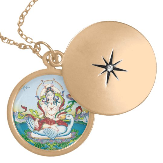 Tara Protecting against Poisons - round locket