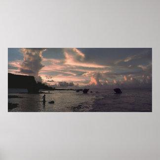 Tarague Sunset Print
