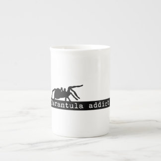 """Tarantula Addict"" Bone China Mug"