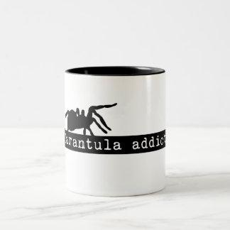 """""""Tarantula Addict"""" Two Tone Mug"""