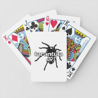 Tarantula Art Bicycle Playing Cards