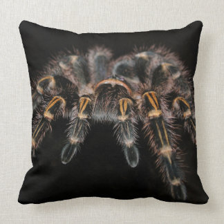 Tarantula Big Spider Hairy Arachnoid Throw Pillow