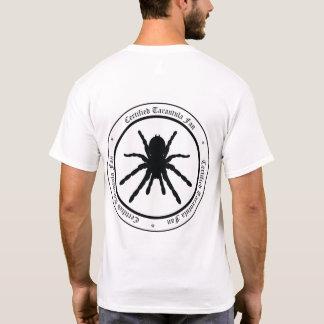 """""""Tarantula Fan"""" T-shirt (back logo)"""