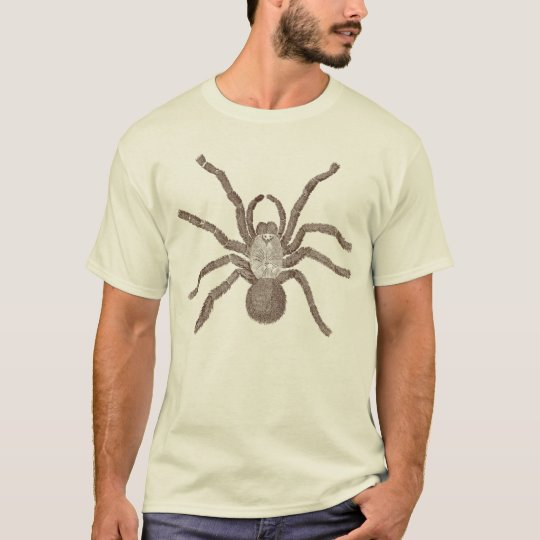 Tarantula from a 300 year old Engraving T-Shirt