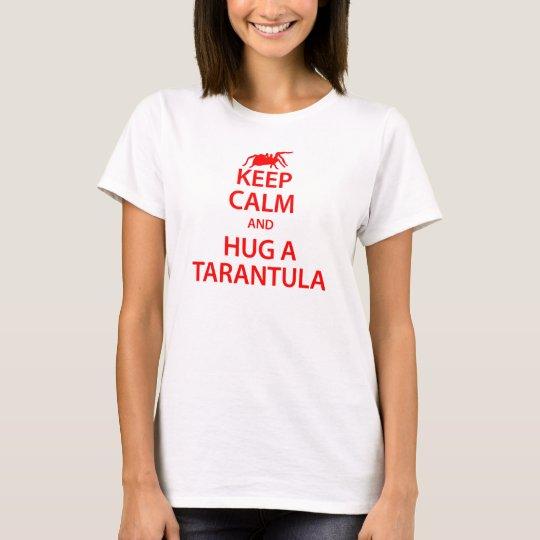 Tarantula Keep Calm T-shirt (White)