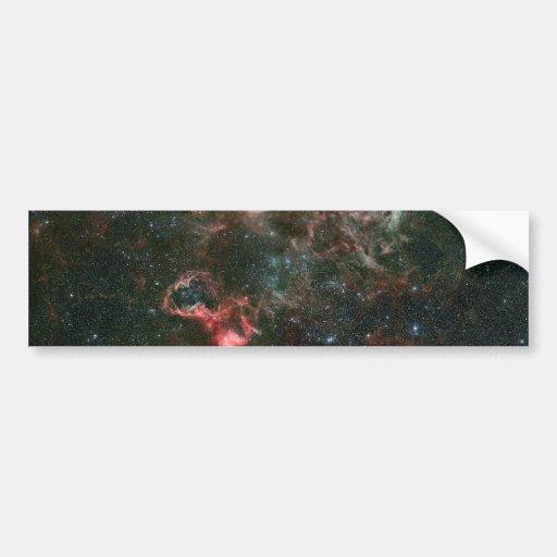Tarantula Nebula and its surroundings Bumper Sticker
