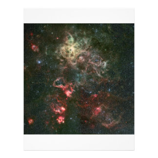 Tarantula Nebula and its surroundings Flyer Design