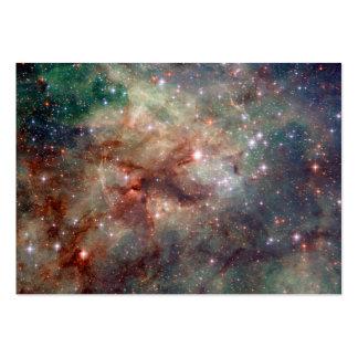 Tarantula Nebula Hubble Space Business Card Templates