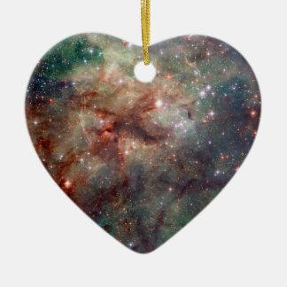Tarantula Nebula Hubble Space Christmas Ornament