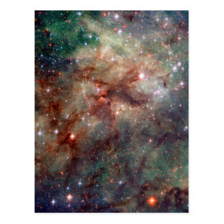 Tarantula Nebula Hubble Space Postcard