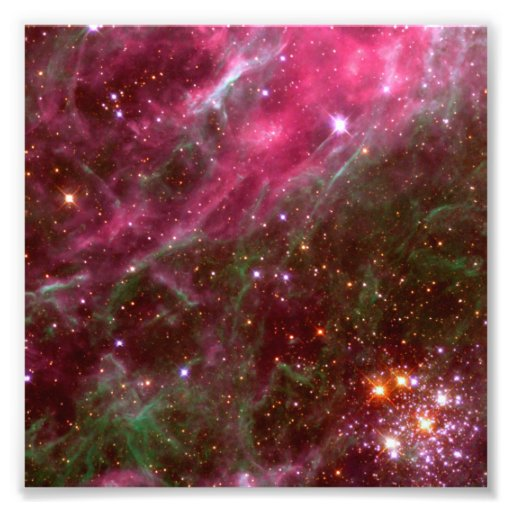Tarantula Nebula (Hubble Telescope) Photo Print