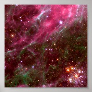 Tarantula Nebula Hubble Telescope Print