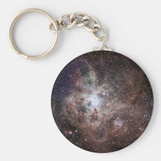 Tarantula Nebula Basic Round Button Key Ring
