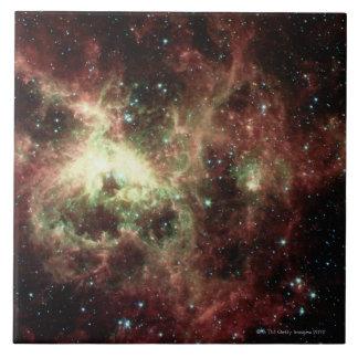Tarantula Nebula Large Square Tile