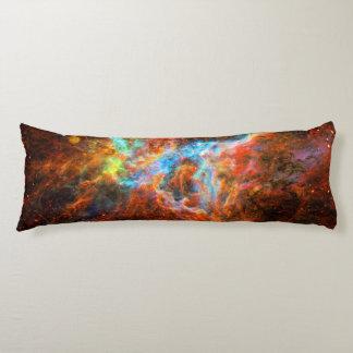 Tarantula Nebula, outer space astronomy picture Body Cushion