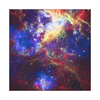 Tarantula Nebula Star Forming Gas Cloud Sculpture Canvas Print