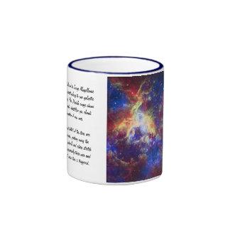 Tarantula Nebula Star Forming Gas Cloud Sculpture Ringer Coffee Mug