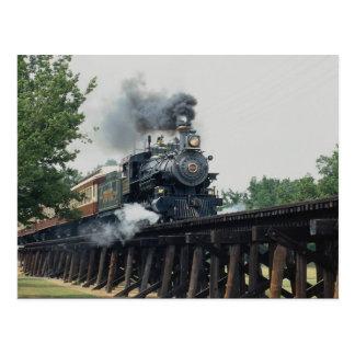 Tarantula Railroad, Fort Worth, Texas, U.S.A. Postcard