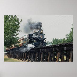 Tarantula Railroad, Fort Worth, Texas, U.S.A. Poster