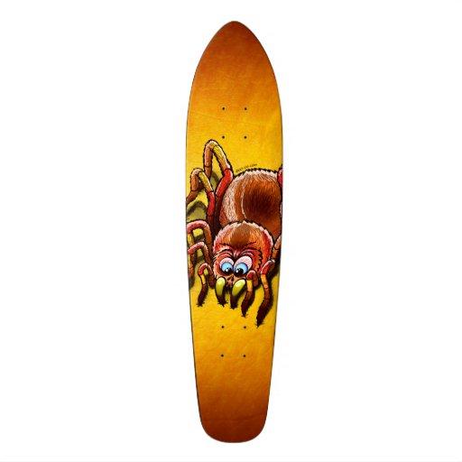 Tarantula Sinking its Fangs into Fresh Flesh Skateboard Decks