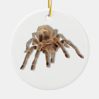 Tarantula spider christmas ornament