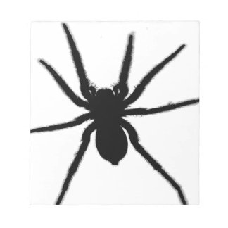 Tarantula Spider Design Notepad