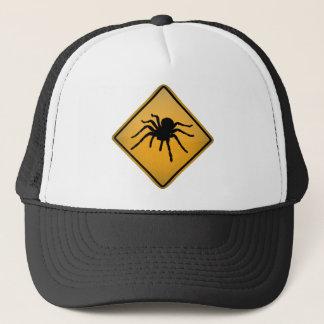 Tarantula Warning Sign Trucker Hat