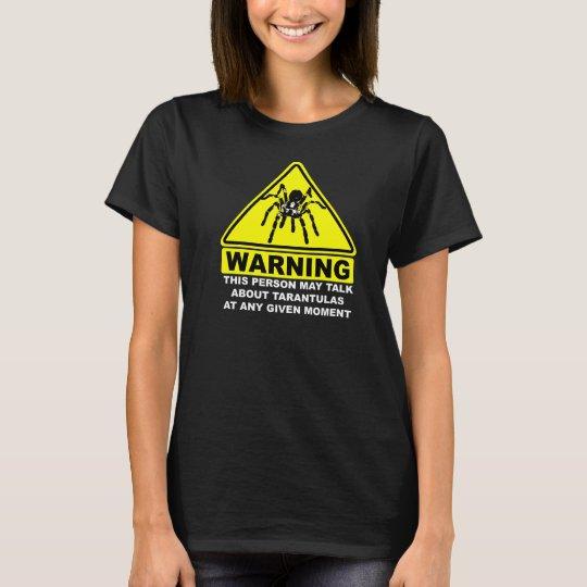 Tarantula Warning T-shirt (Black)