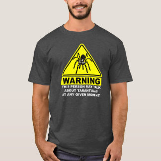 Tarantula Warning T-shirt (Grey)