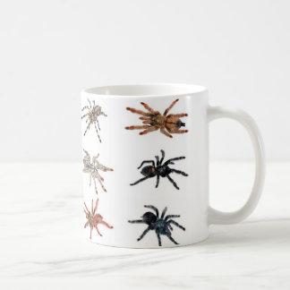 tarantulas classic white coffee mug