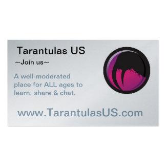 TarantulasUS Buisness Card Pack Of Standard Business Cards