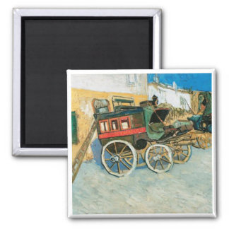 Tarascon Dilgence by Vincent van Gogh Magnet