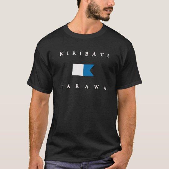 Tarawa Kiribati Alpha Dive Flag T-Shirt