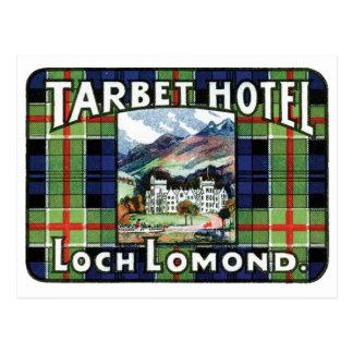 Tarbet Hotel Loch Lomond Postcard