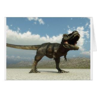 Tarbosaurus Card