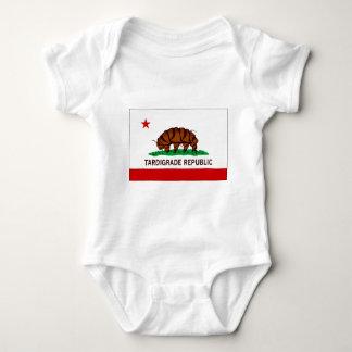 Tardigrade Republic Flag Baby Bodysuit