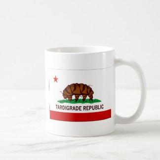 Tardigrade Republic Flag Basic White Mug