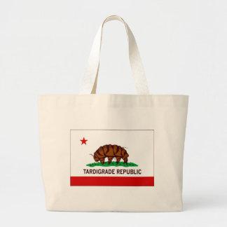 Tardigrade Republic Flag Tote Bags
