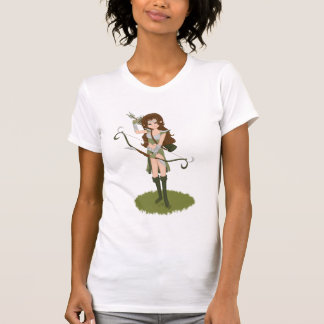 Taren the Archer Warrior Elf Girl T-Shirt
