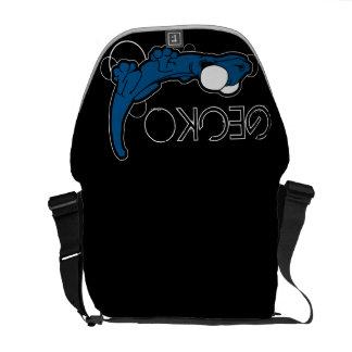Tarente Ebony (Blue) Messenger Bag