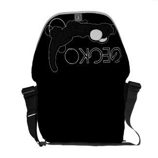 Tarente Ebony (Charcoal) Messenger Bag