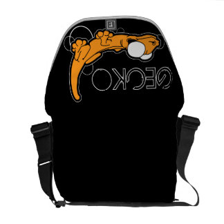 Tarente Ebony (Orange) Messenger Bag