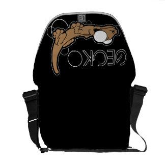 Tarente Ebony (Tan) Messenger Bag