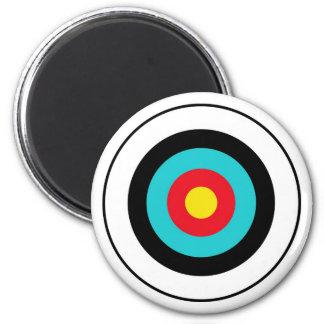 target 6 cm round magnet
