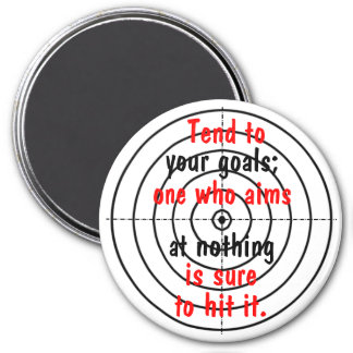 Target 7.5 Cm Round Magnet