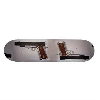 Target air pistol skate boards