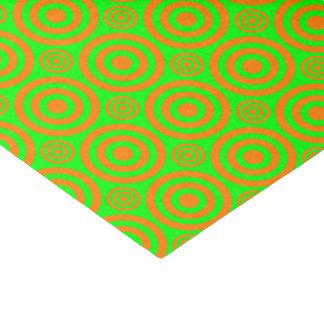 Target Bullseye-ORANGE-NEON-TISSUE WRAP PAPER