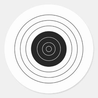 Target BullsEYE Round Sticker