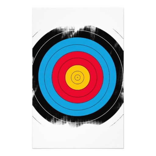 Target Face Personalised Stationery