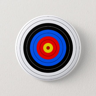 Target Lines 6 Cm Round Badge